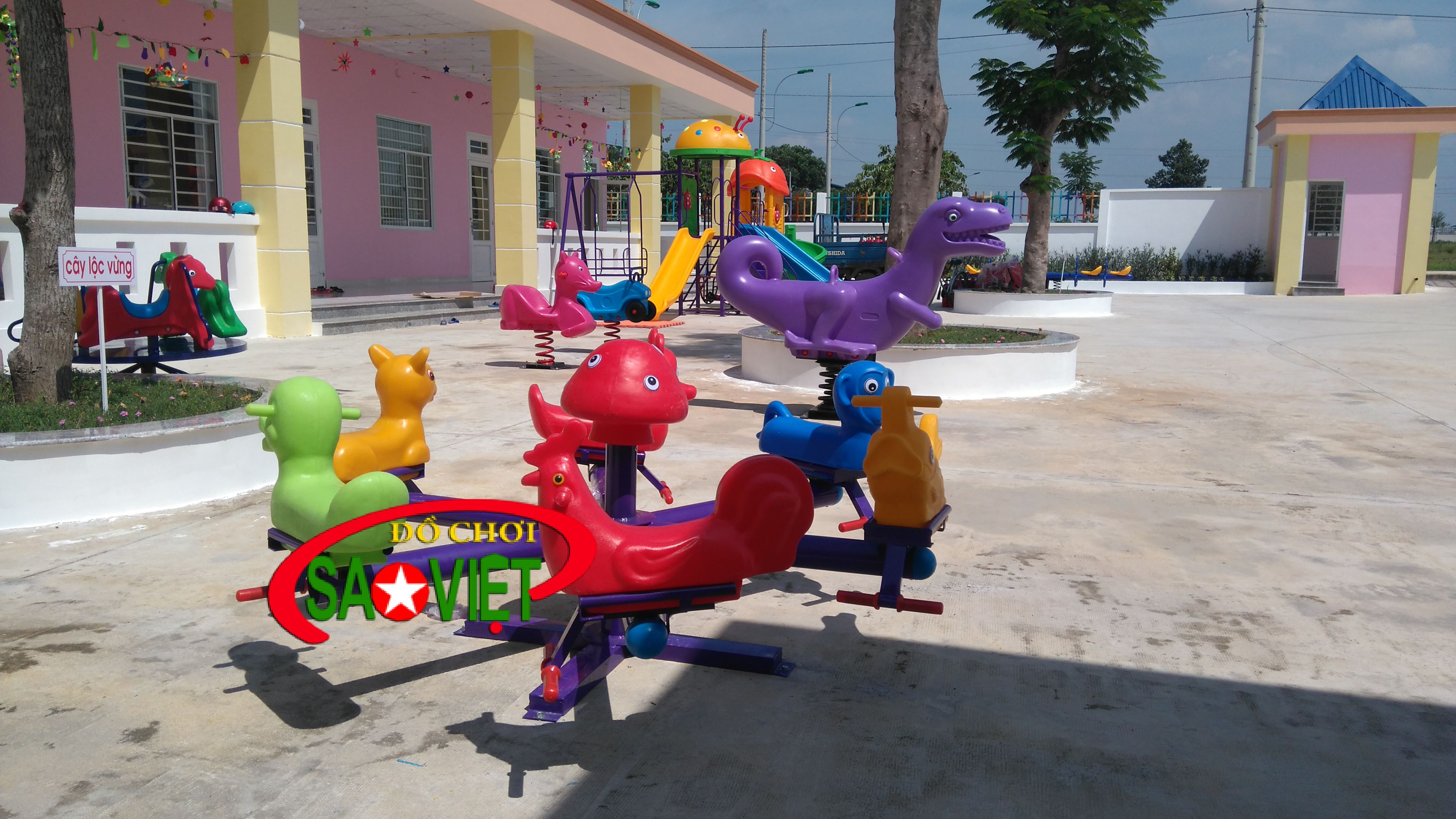 Phân phối thiết bị sân chơi mầm non tại Đắk Nông
