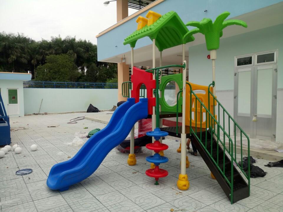 Tư vấn lắp đặt thiết bị sân chơi mầm non tại Quảng Bình