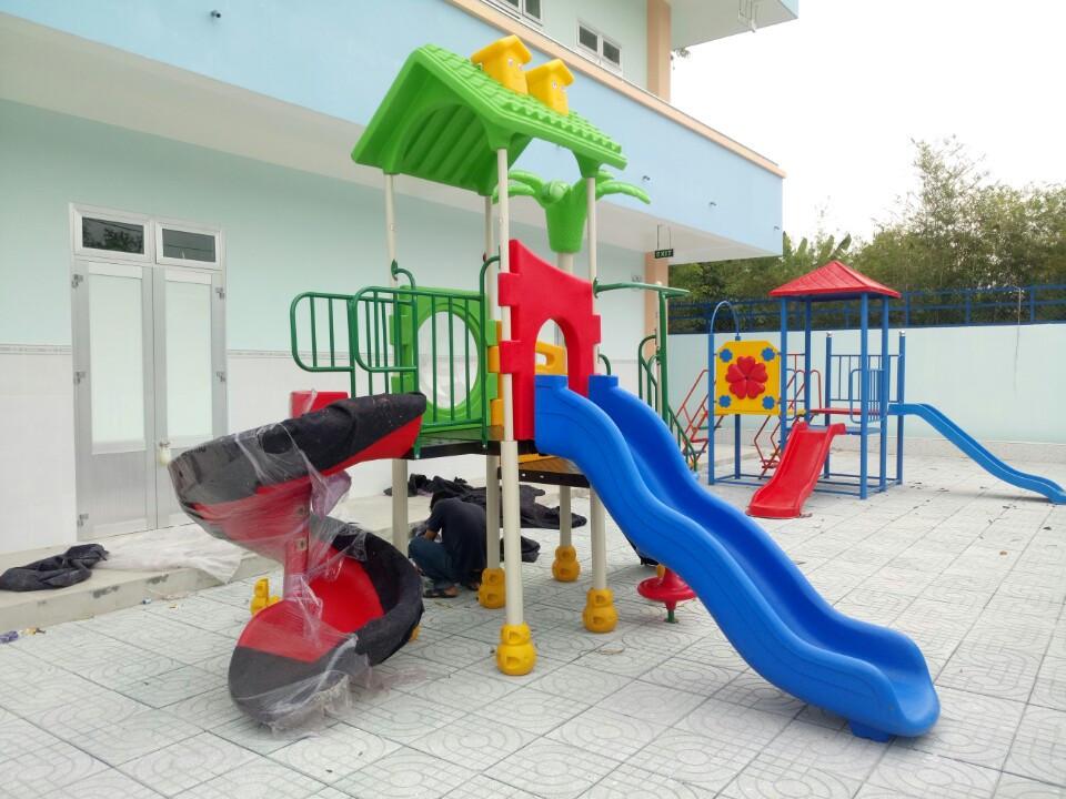 Thiết bị sân chơi mầm non tại Quảng Ninh - Công ty Đồ chơi Sao Việt