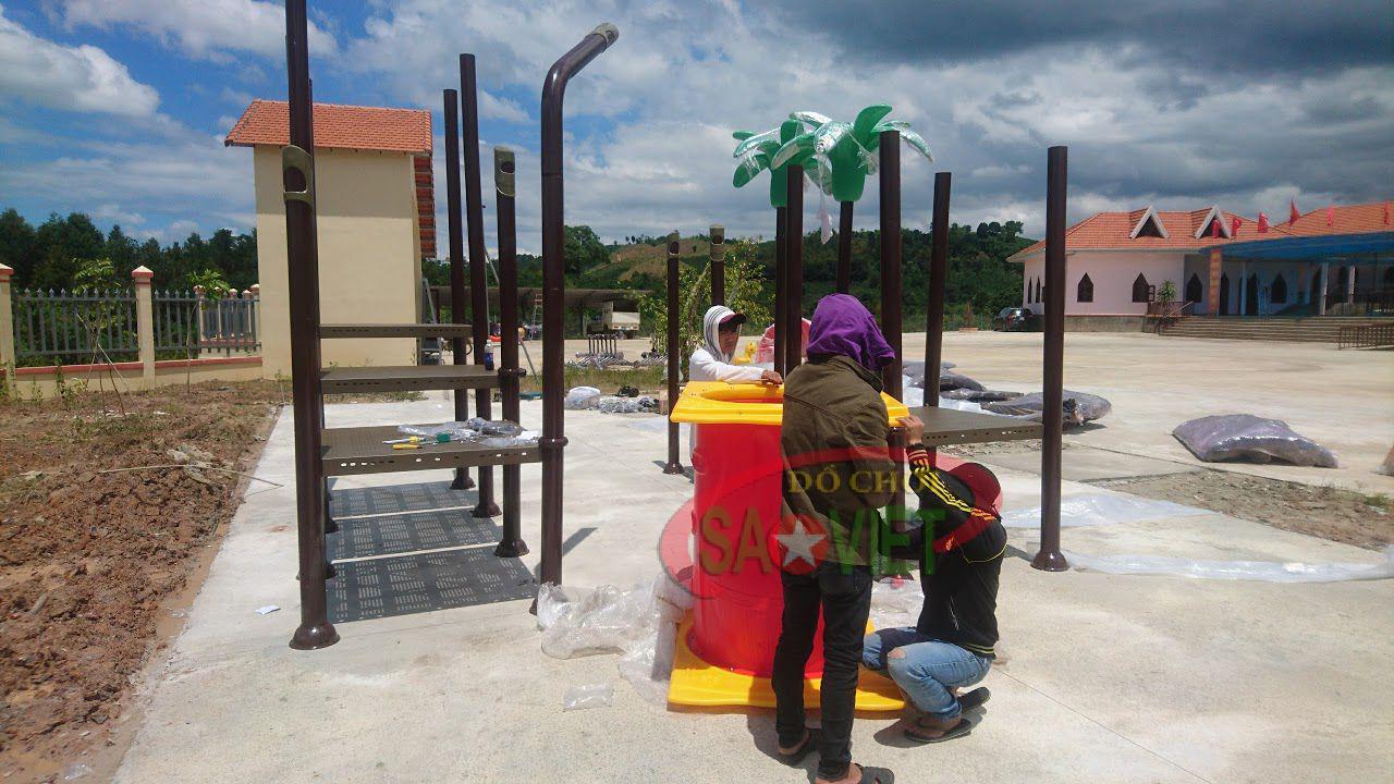 Thiết bị sân chơi mầm non tại Vĩnh Phúc 1