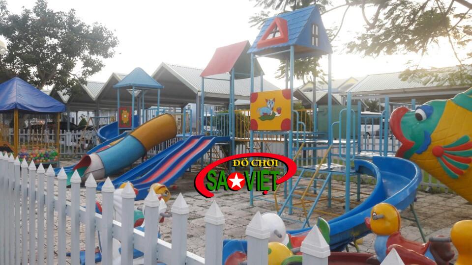 Thiết kế thiết bị sân chơi mầm non tại Nam Định