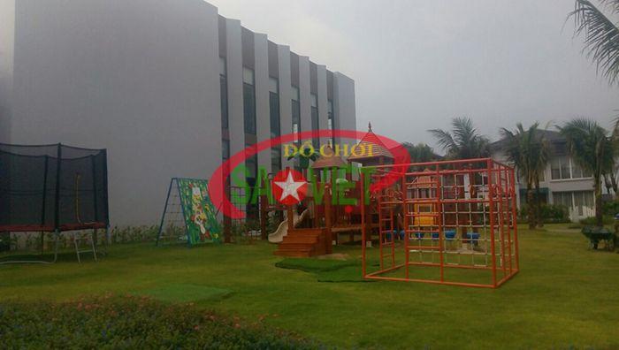 Công Trình Novotel Phú Quốc - Cầu Trượt Gỗ Liên Hoàn 3 Khối