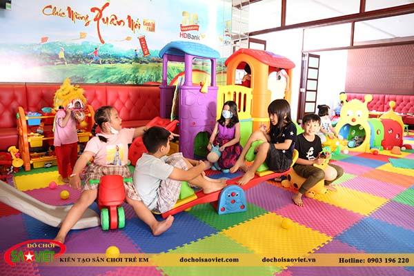 khu vui chơi trẻ em vườn trẻ hdbank