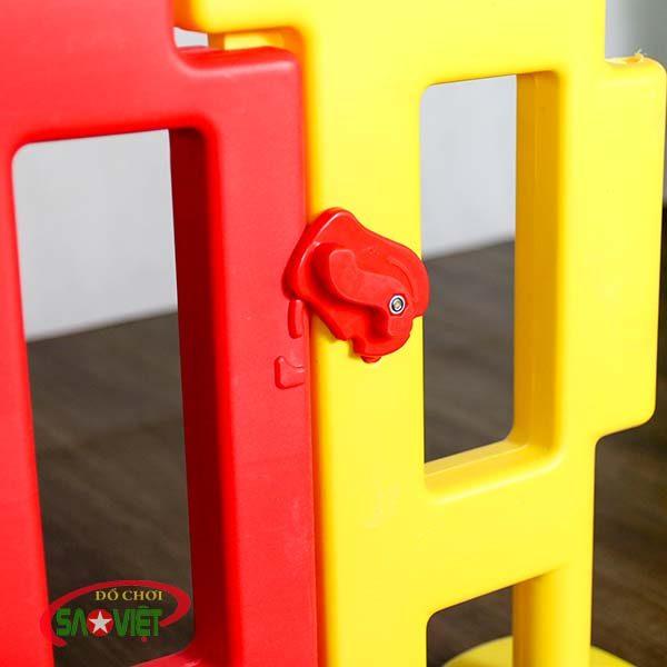 hàng rào nhựa trẻ em loại nhỏ s08n05 3
