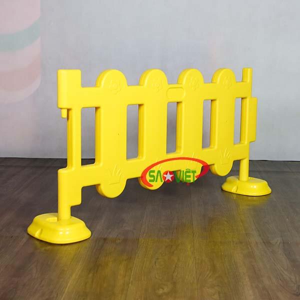 hàng rào nhựa trẻ em loại nhỏ s08n05