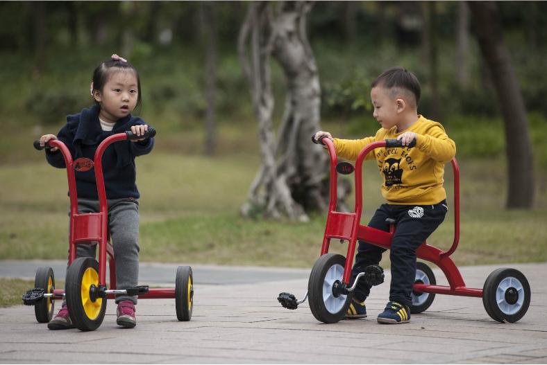 xe đạp cho bé mầm non