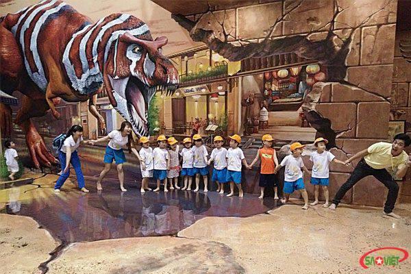 Khám phá bảo tàng tranh 3d lớn nhất Tp.HCM