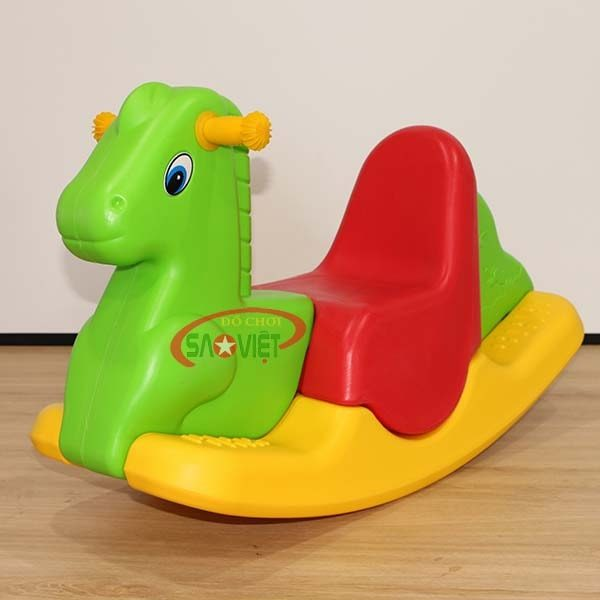 bập bênh cho bé con ngựa S04NA33
