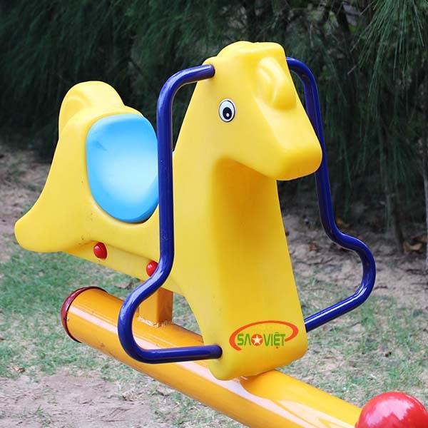 bập bênh công viên 2 con 1.Lợi ích của bập bênh con ngựa s04np73 1
