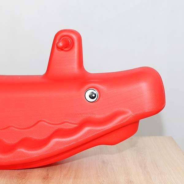 bập bênh nhựa đôi cá voi S04NB51