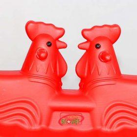 bập bênh nhựa đôi con gà S04NB04