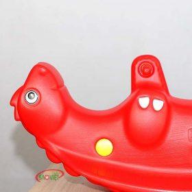 bập bênh nhựa khủng long cho bé S04NB38