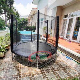 bạt nhún lò xo mini trampoline cho bé loại tròn S16N17A