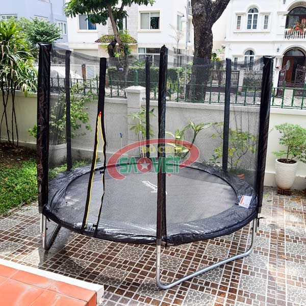 bạt nhún lò xo mini trampoline loại tròn S16N17A