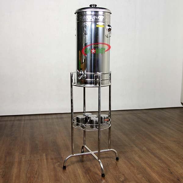 bình đựng nước inox 20 lít có vòi MN561010
