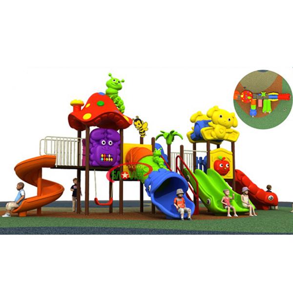 Cầu Trượt Liên Hoàn Cho Trẻ Em Con Khỉ - Giảm Ngay 30% - VietPlay