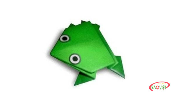gấp hình chú ếch