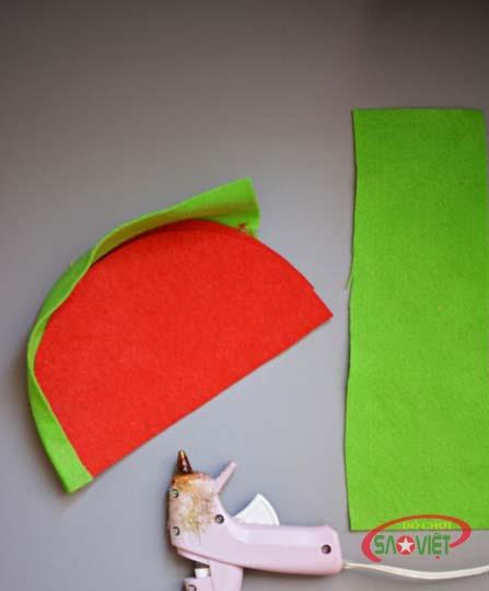 cách làm túi xách bằng vải nỉ 3