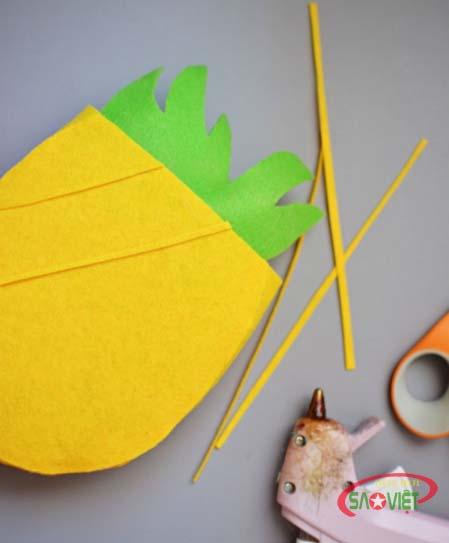 cách làm túi xách bằng vải nỉ 5