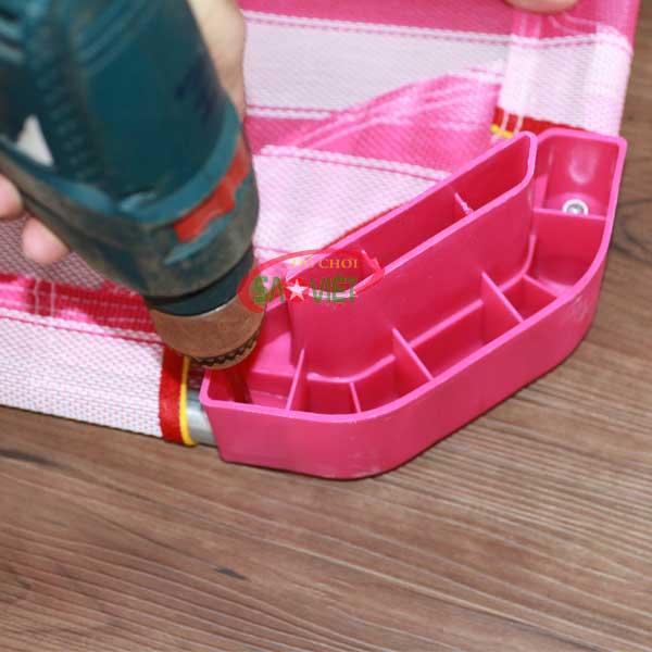 cách lắp đặt giường lưới cho bé Pepsi s011vea