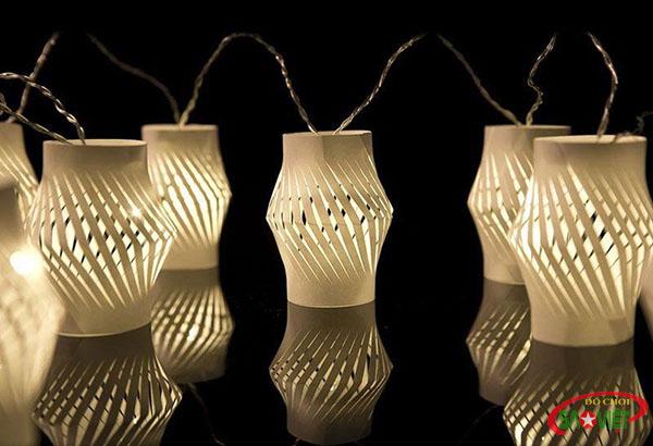 cách làm đồ chơi bằng giấy với lồng đèn cực cute