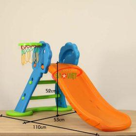 kích thước cầu trượt mini bóng rổ gấp gọn cho bé S03NM001C