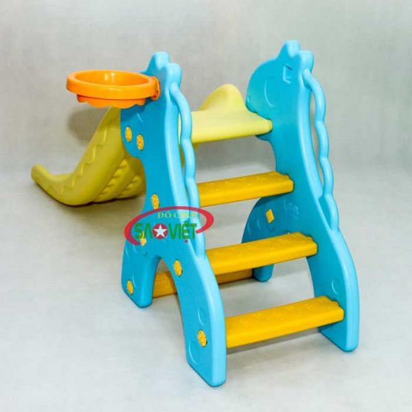 cầu trượt mini cho bé con hươu s03nm015 1