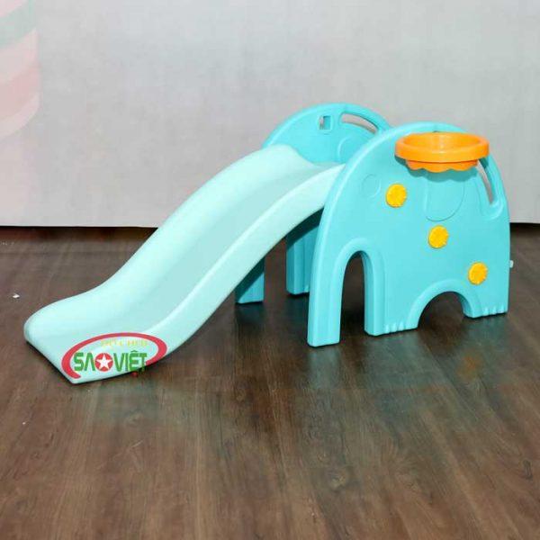 cầu trượt mini con voi s03nm014