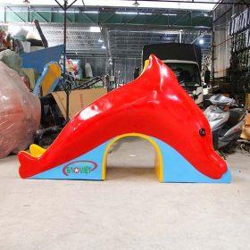 cầu trượt nước cá heo cho bé s03v120 6