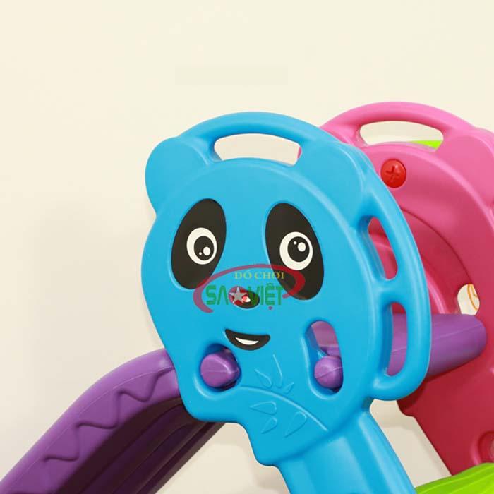 cầu trượt trẻ em mini gấp gọn s03nm001d 1