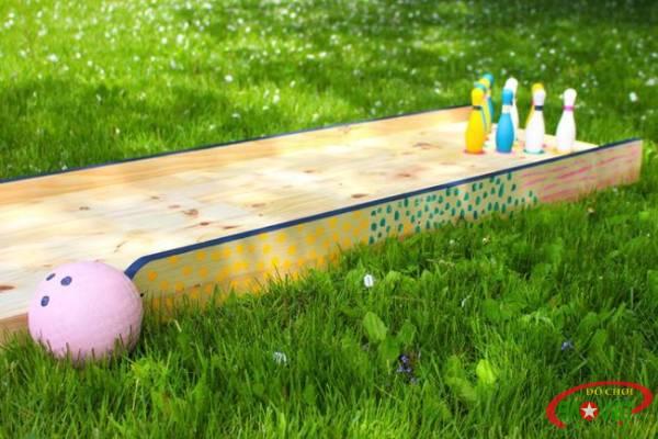 Cách tự làm đồ chơi bowling và sân chơi ngay tại nhà cho bé