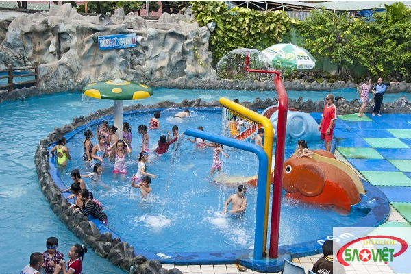 Review Công viên nước Đại Thế Giới - khu vui chơi trẻ em nổi tiếng tại Tp.HCM