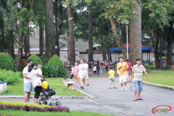 Review công viên Tao Đàn - khu vui chơi miễn phí cho bé giữa lòng thành phố