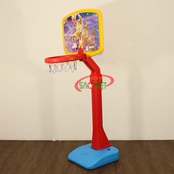 cột ném bóng rổ cho bé