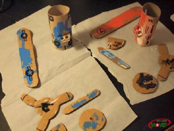 Tự tay làm 3 món đồ chơi sáng tạo cho bé không tốn một xu