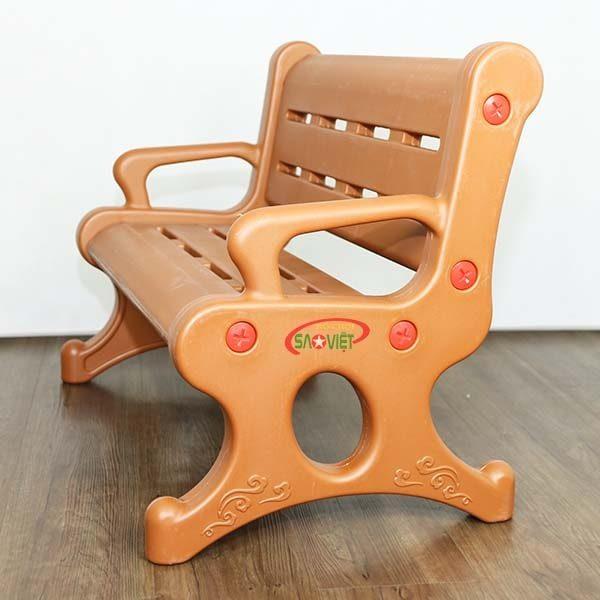 ghế băng dài nhựa mầm non cao cấp S012NM