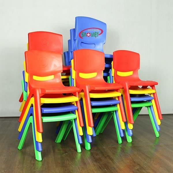 ghế nhựa mầm non nhập khẩu S012NA3 5