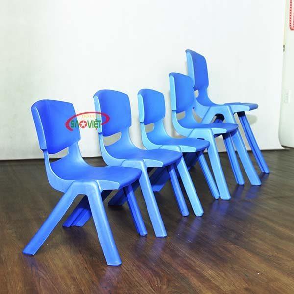 ghế nhựa mầm non nhập khẩu S012NA3 4
