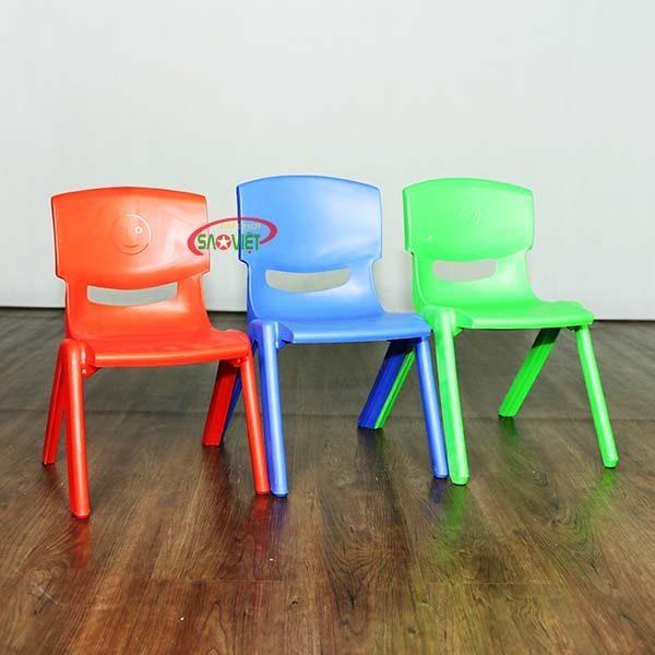 ghế nhựa mầm non nhập khẩu S012NA3 2