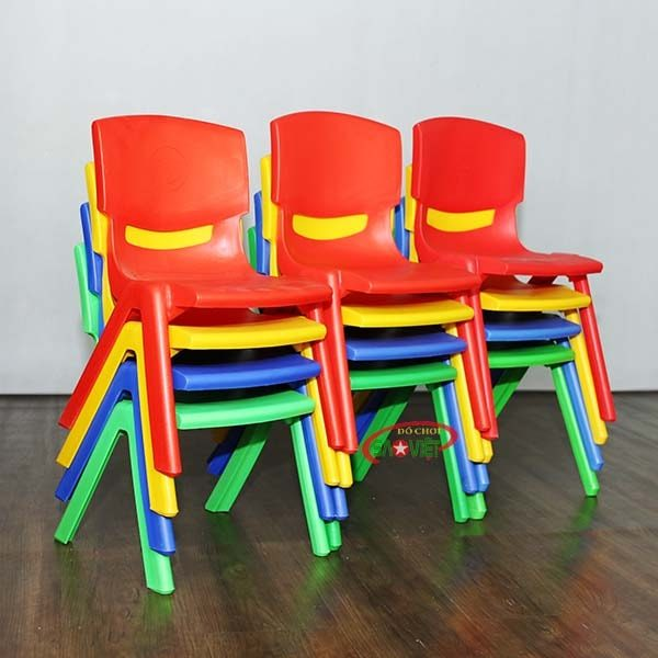 ghế nhựa mầm non nhập khẩu S012NA3 1