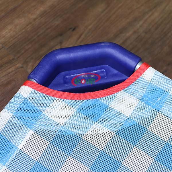 giường lưới cho bé mầm non caro xanh S011VIB 4