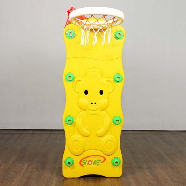 kệ đồ chơi cho bé con heo bóng rổ