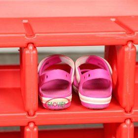 kệ giày dép bằng nhựa S014NE01