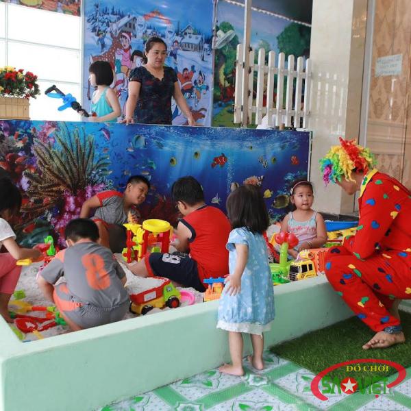 Một ngày chơi hết mình, vui hết ý tại khu vui chơi trẻ em KIDS GARDEN