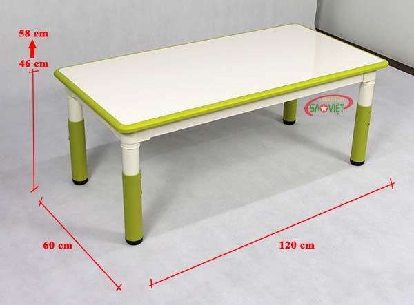 kích thước bàn ghế trẻ em cao cấp S013NL