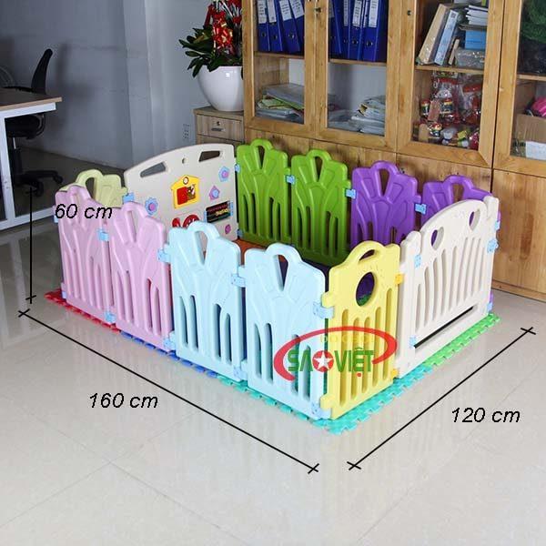 kích thước nhà banh cho bé sơ sinh s08n17