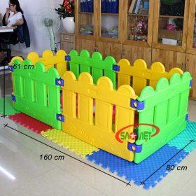 kích thước nhà banh mini cho bé mẫu giáo s08n03