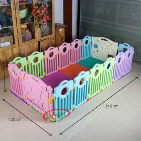 kích thước nhà bóng mini cho trẻ em s08n07