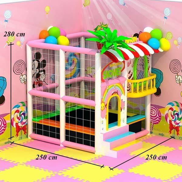 kích thước nhà nhún lò xo mini cho bé S16N01A