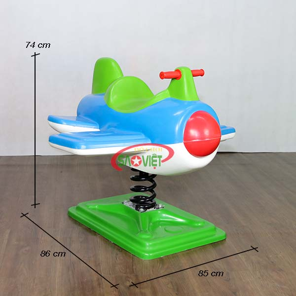 kích thước thú nhún lò xo máy bay s12v01